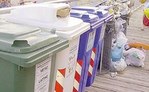 Isole ecologiche e rifiuti a Bolzano