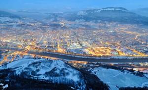 Trento con la neve