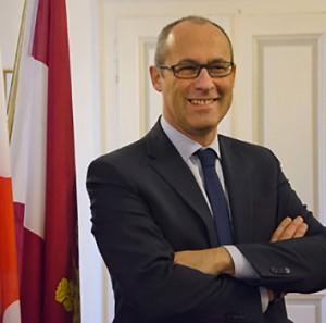 Il presidente della Regione Trentino Ugo Rossi