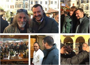 Salvini a Bolzano