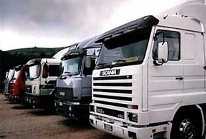 Operazioni di verifica dei mezzi pesanti a Paganella