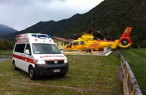45 enne muore cadendo da un sentiero. Sul posto Trentino Emergenza e soccorso alpino