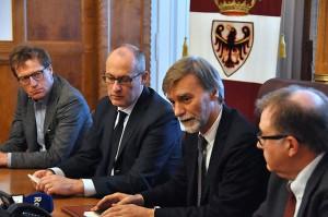L'incontro tra Ugo Rossi e Graziano Delrio