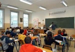Una classe di una scuola primaria